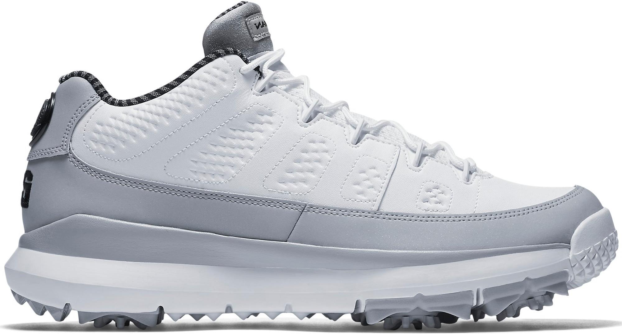 Jordan 9 Retro Golf Cleat Wolf Grey