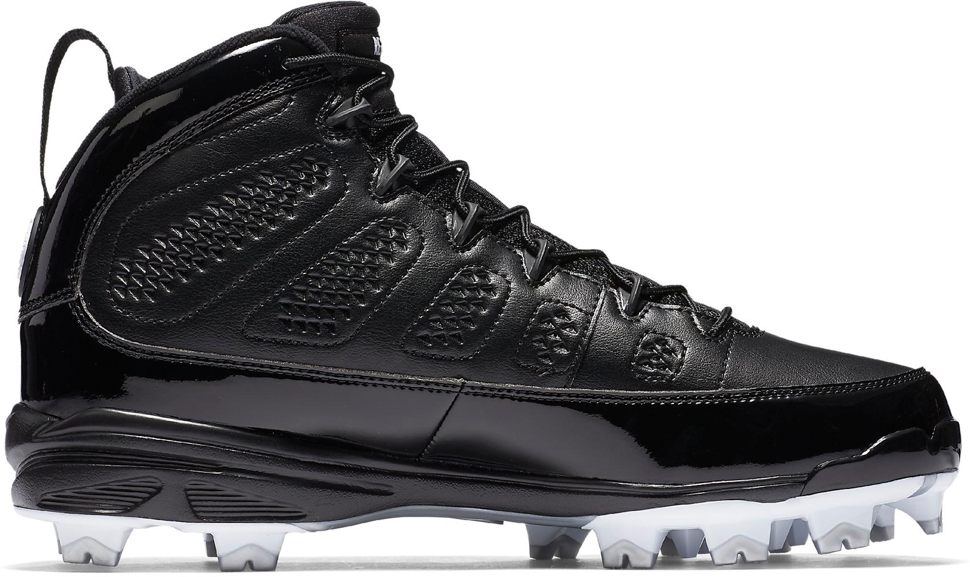Jordan 9 Retro MCS Cleat RE2PECT Black