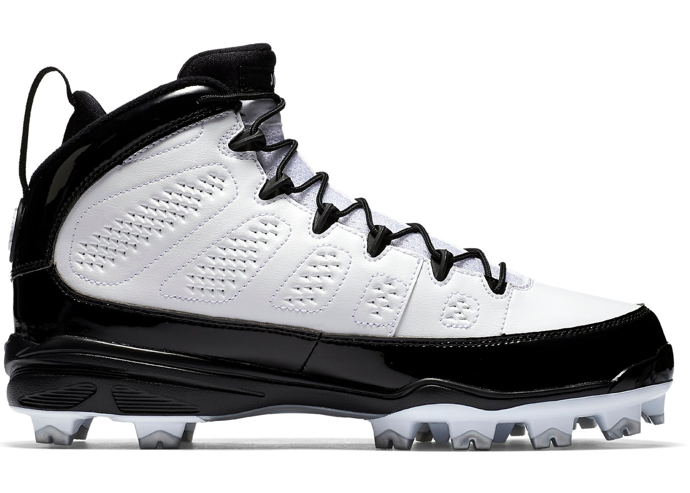 371fb592051 Sell. or Ask. Size: 10.5. View All Bids. Jordan 9 Retro MCS Cleat RE2PECT White  Black