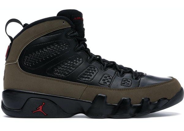 more photos b02b7 5cc56 Jordan 9 Retro Olive (2012)