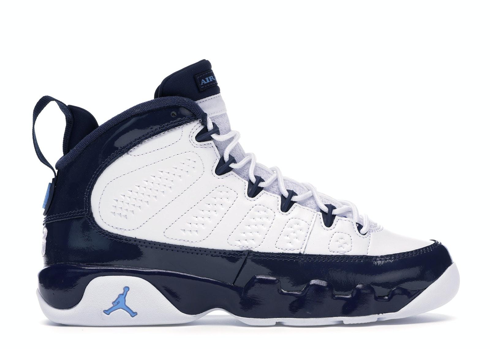 Jordan 9 Retro Pearl Blue (GS)