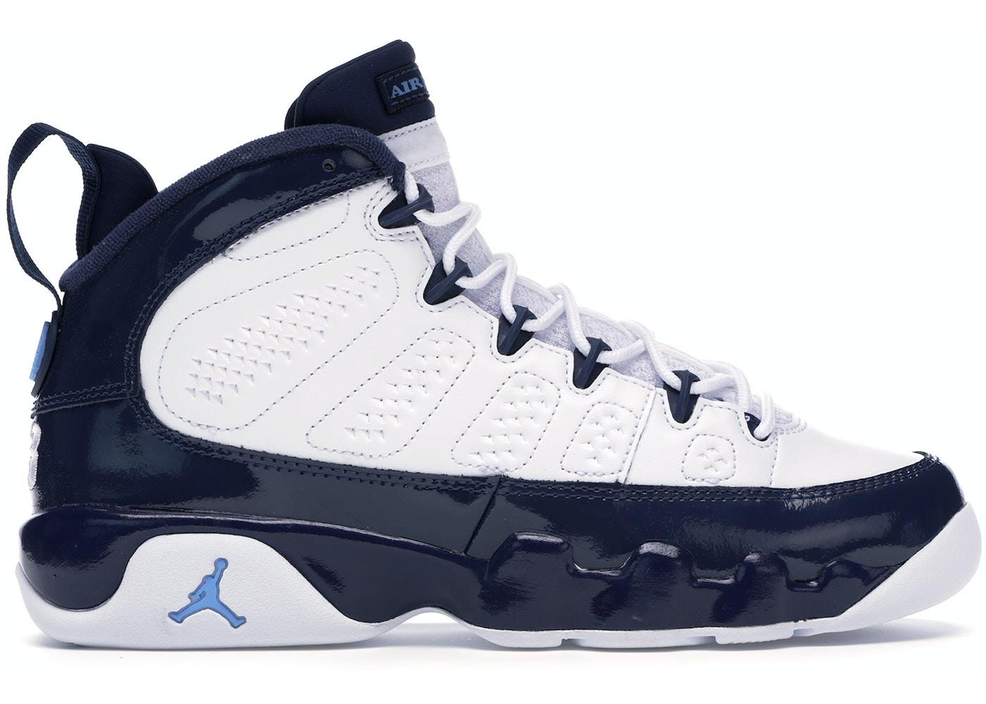 low priced 58fb2 23b69 Jordan 9 Retro Pearl Blue (GS) - 302359-145