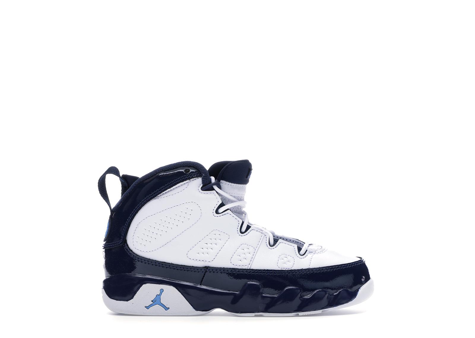 Jordan 9 Retro Pearl Blue (PS) - 401811-145