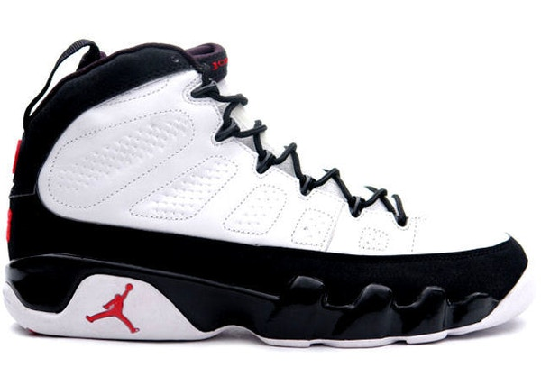 cheap for discount f8a67 d9382 Jordan 9 Retro White Black Red (2002)