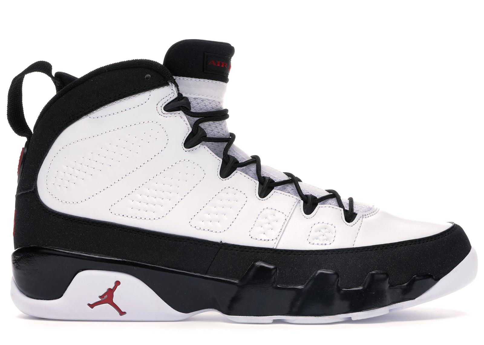 Jordan 9 Retro White Black Red (2010