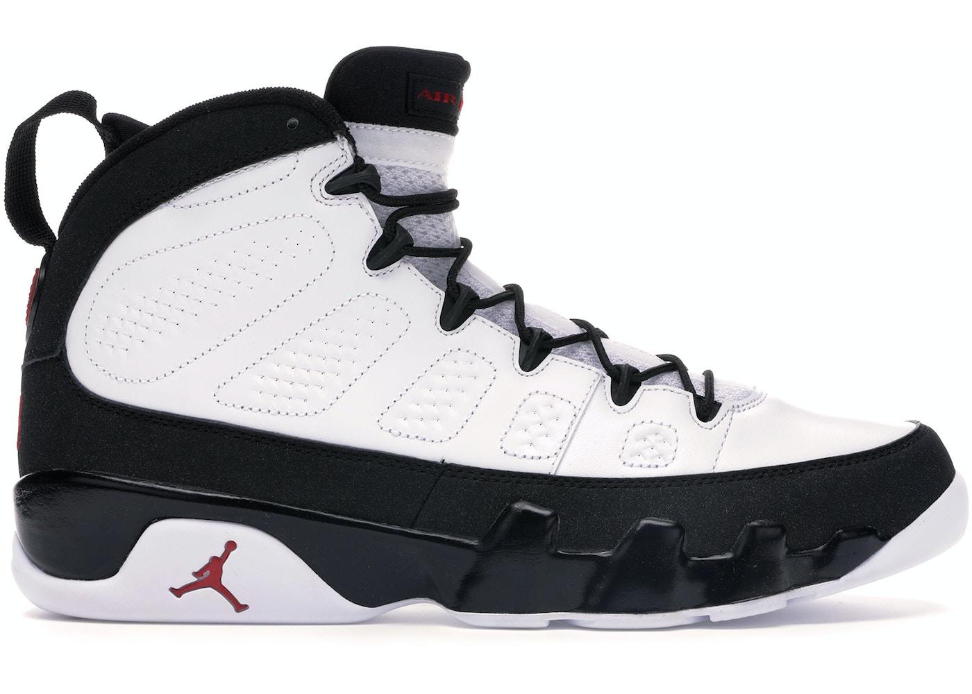 innovative design fdc11 5a14e Jordan 9 Retro White Black Red (2010)