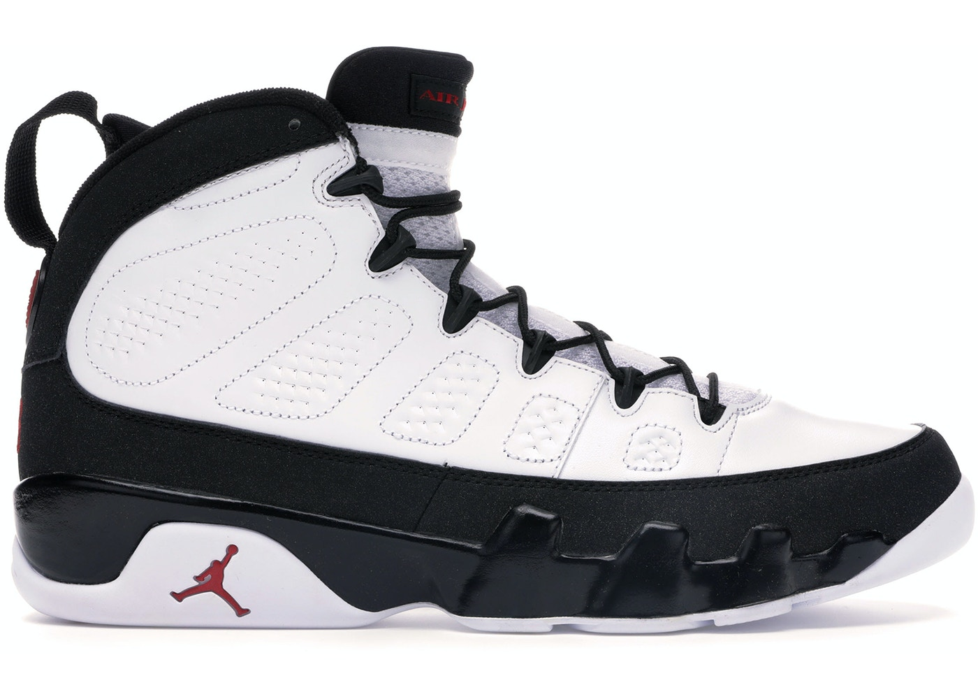 Jordan 9 Retro White Black Red 2010 302370 102