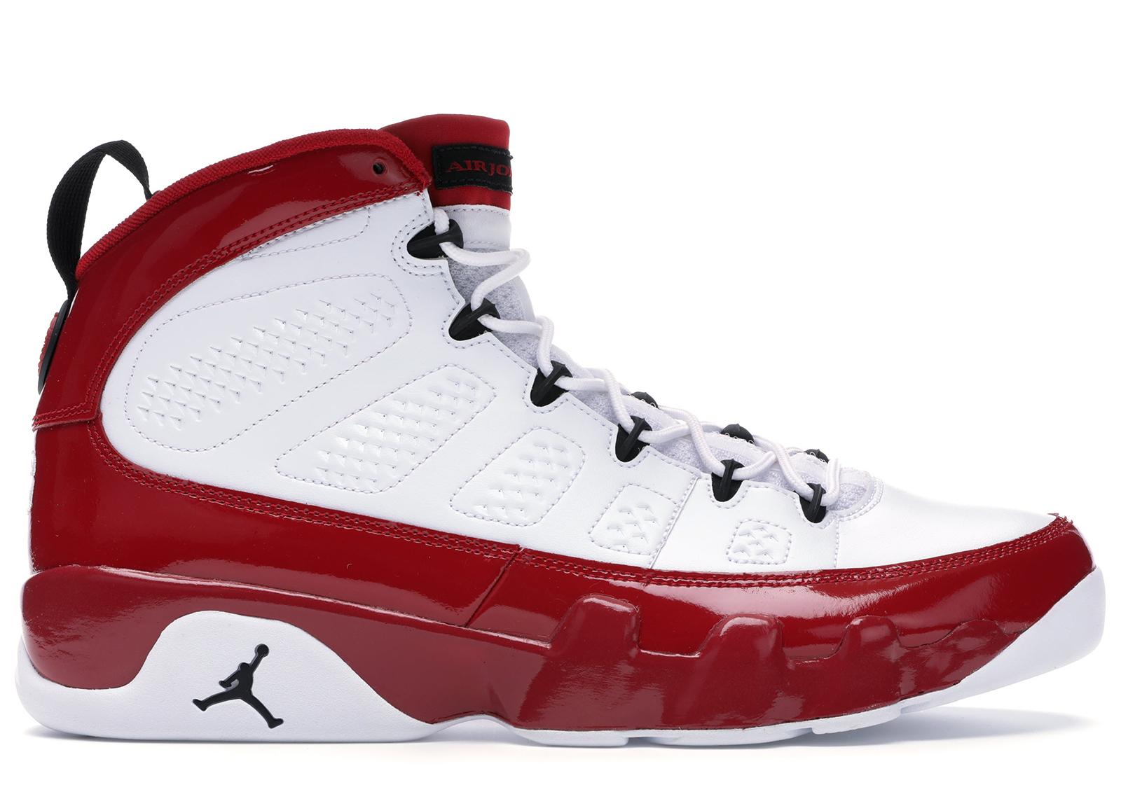 Jordan 9 Retro White Gym Red - 302370-160