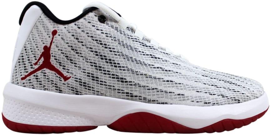 Jordan B.Fly White/Gym Red/Black