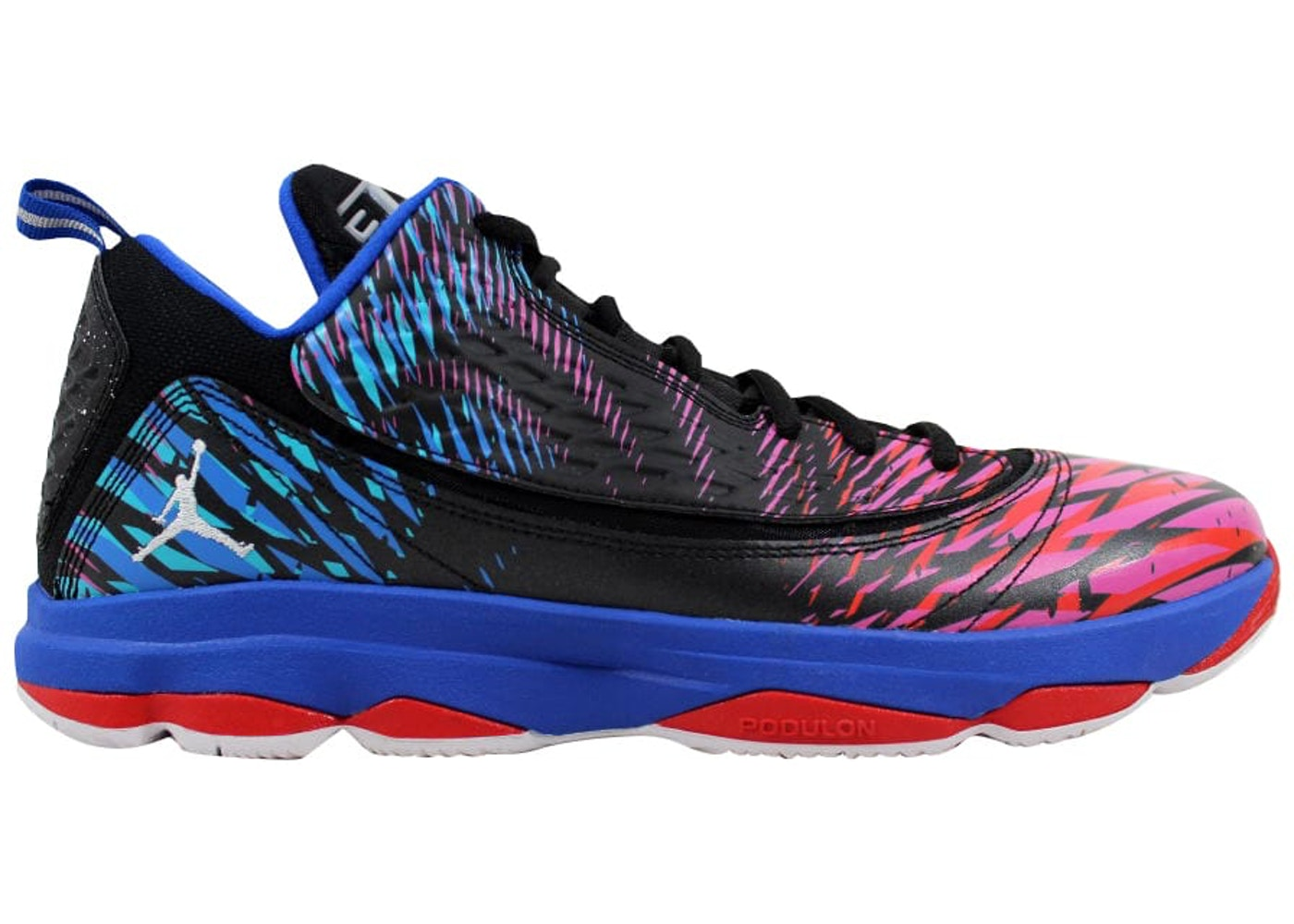 buy popular 842a6 7f124 Air Jordan CP3 VI 6 AE Black White-Game Royal-Sport Red - 580580-055