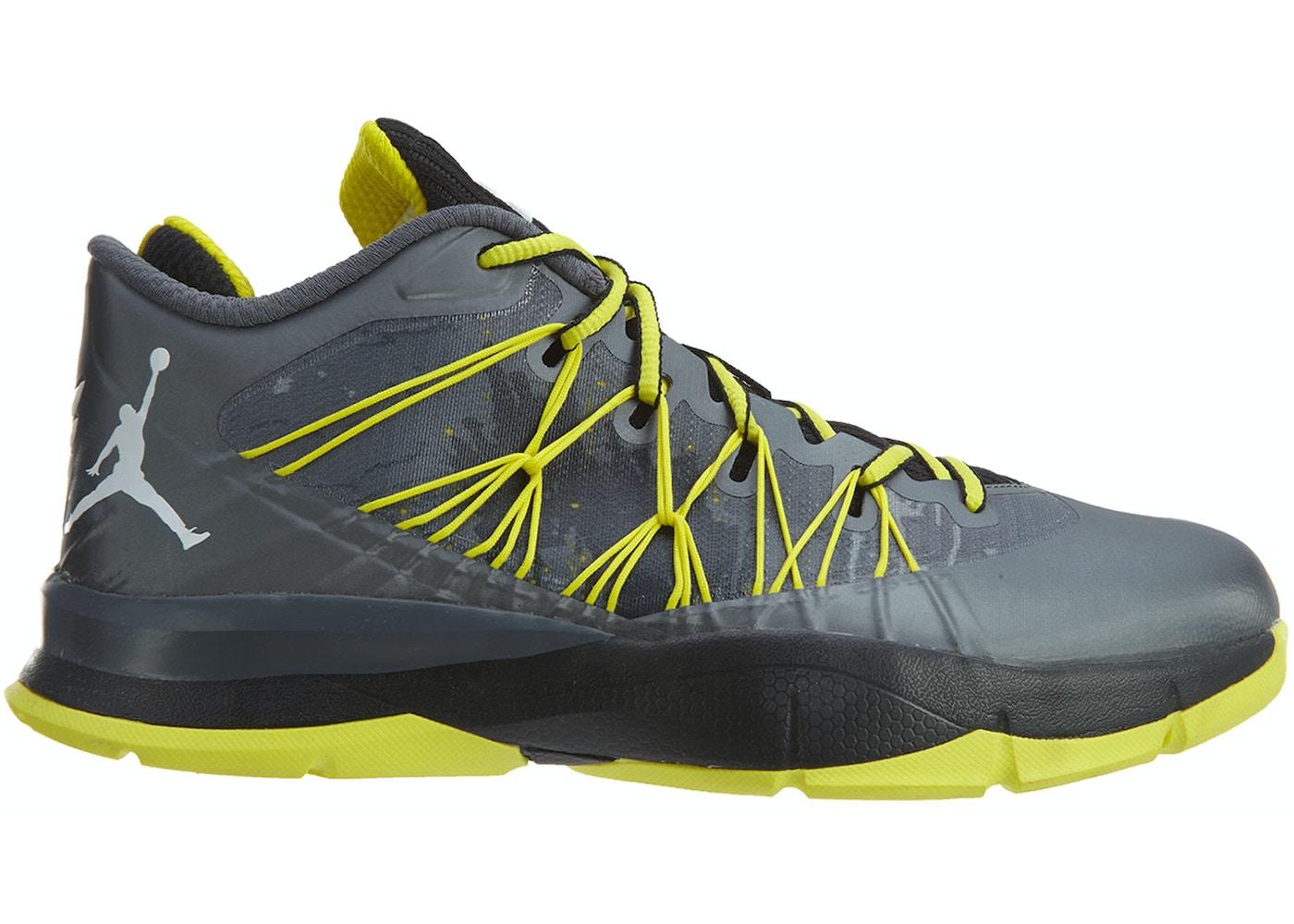 Jordan Cp3 Vii Ae Bg Dark Grey White Yellow - 654974-070 77abd7c9f