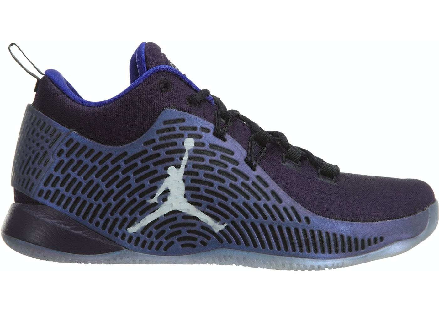 factory authentic 0e5a1 c6023 Jordan Cp3.X Purple Dynasty/Metallic Silver