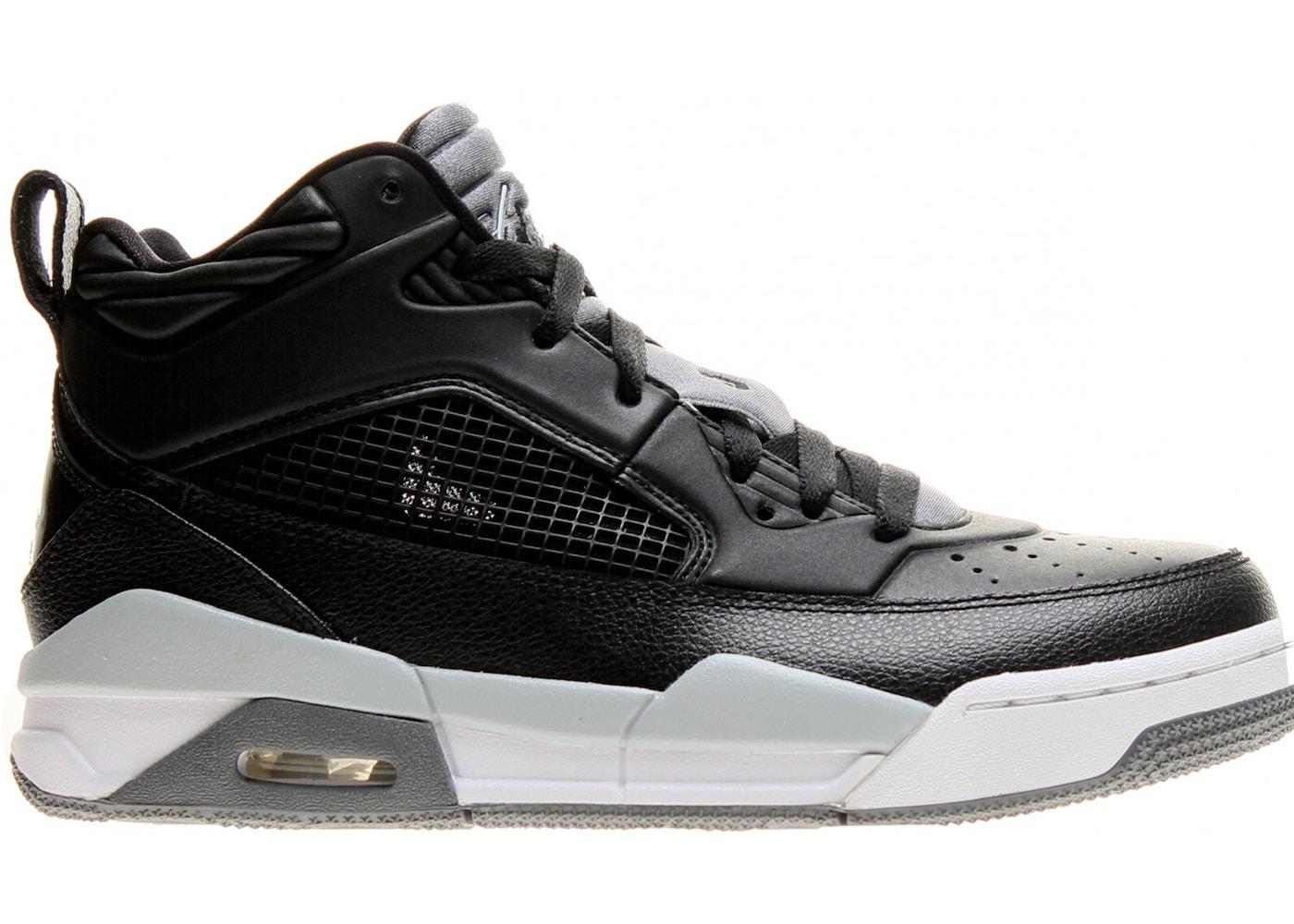 best sneakers 2154d da0bc Jordan Flight 9.5 Black Cool Grey White (GS)
