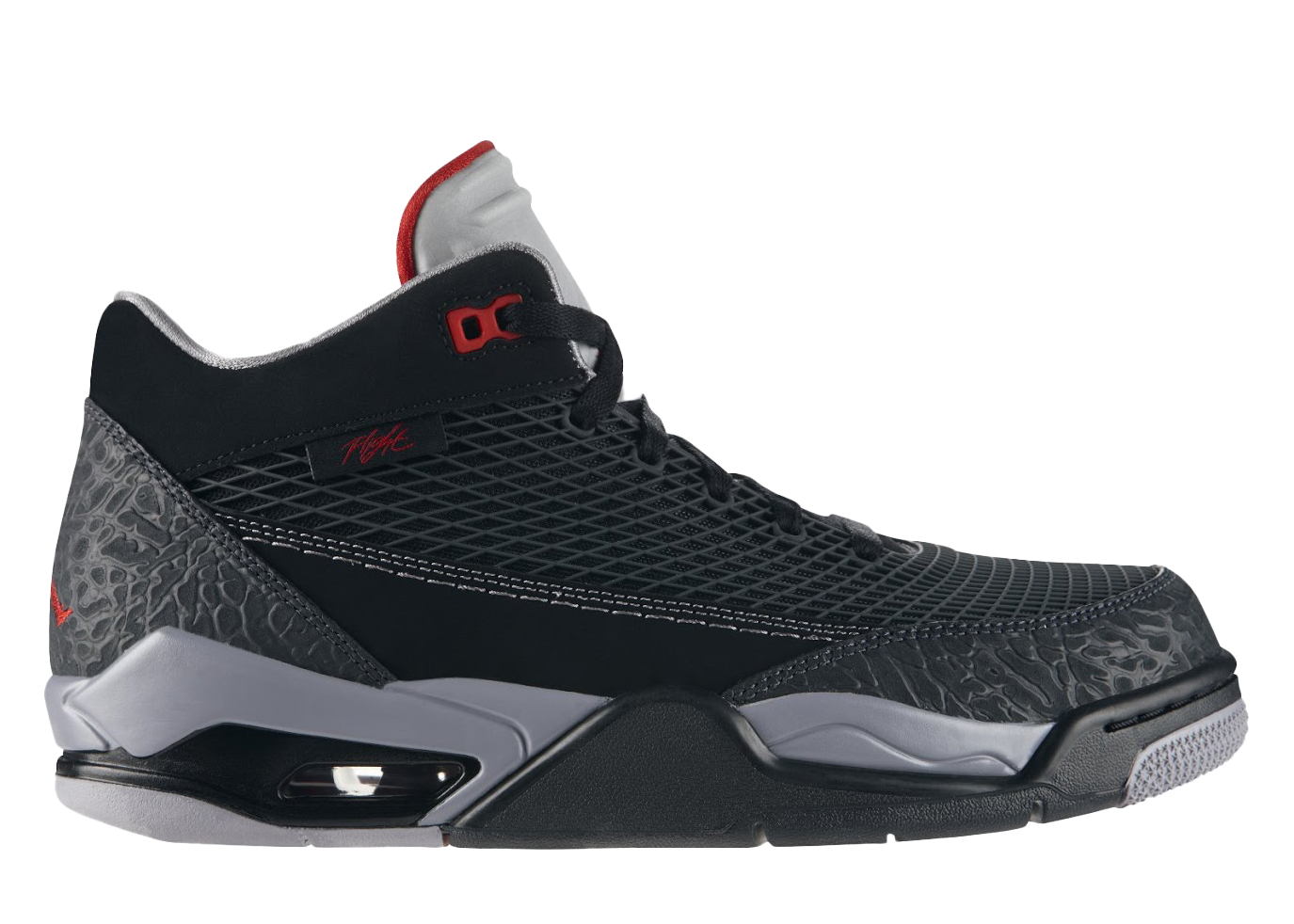 Jordan Flight Club 80s Black Gym Red