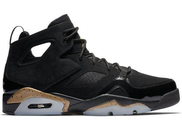 Jordan Flight Club 91 Black Metallic Gold - 555475-031 7dddcdf9f
