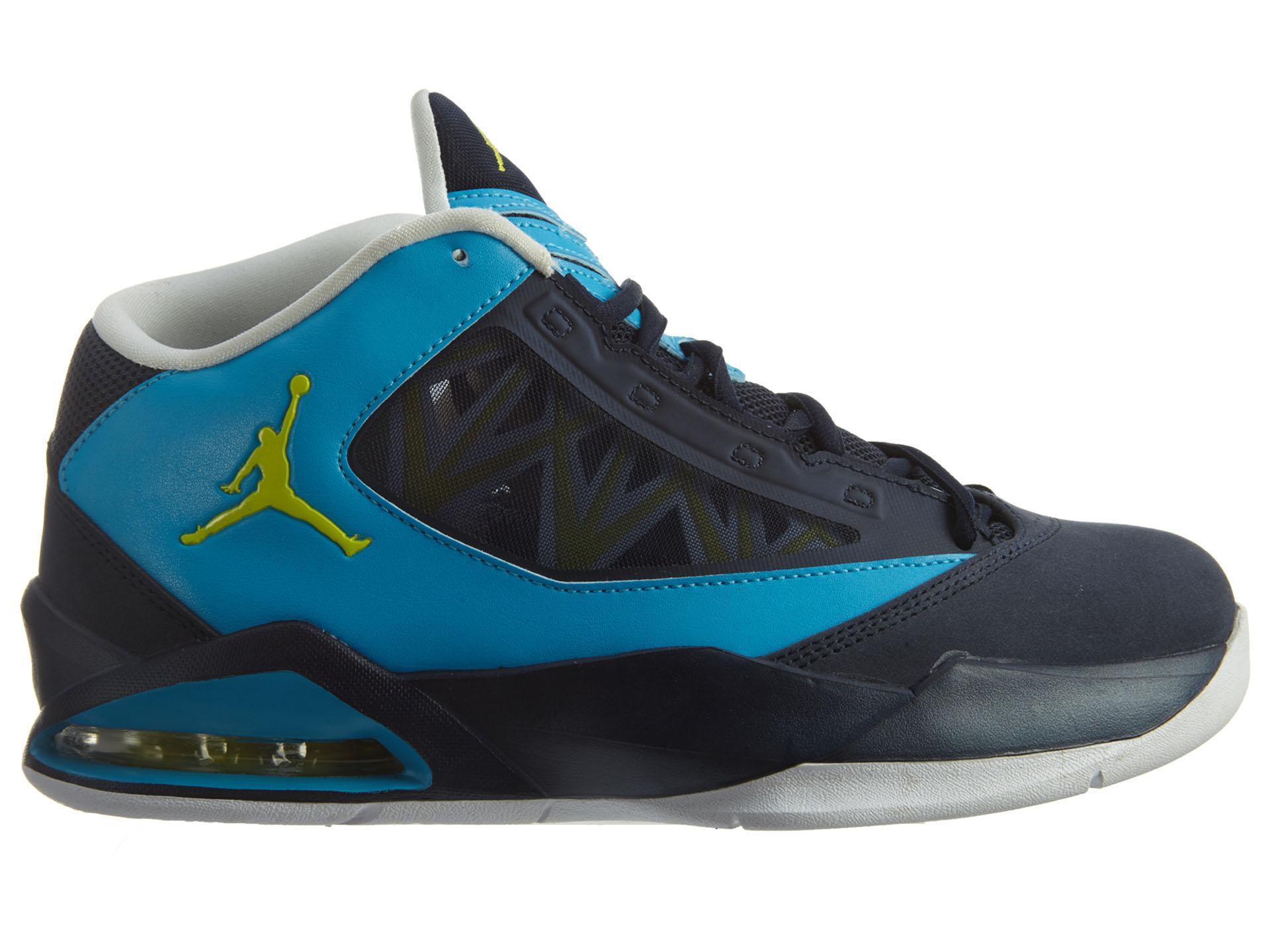 Jordan Flight-The-Power White/Dark Blue
