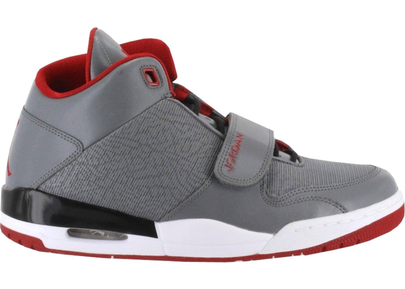 super popular sale online free delivery Jordan Flightclub 90's Cool Grey Gym Red - 602661-022