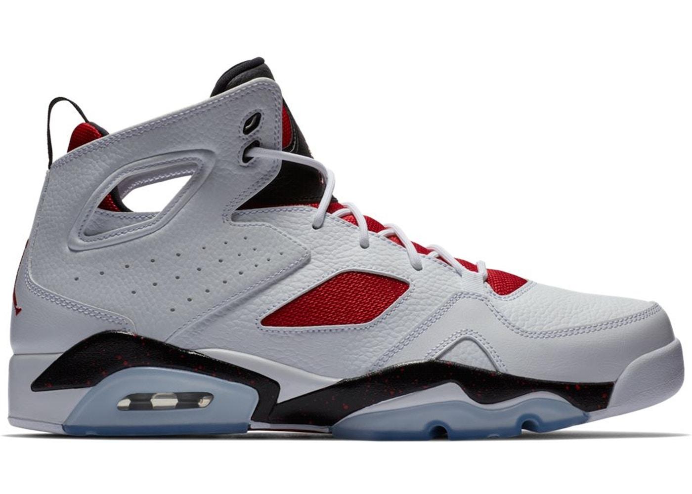 698fa4e8c1b2 Jordan Flightclub 91 White Black Gym Red - 555475-121