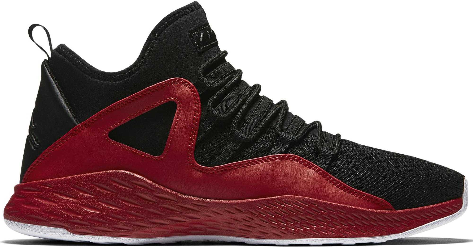 Jordan Formula 23 Black Gym Red
