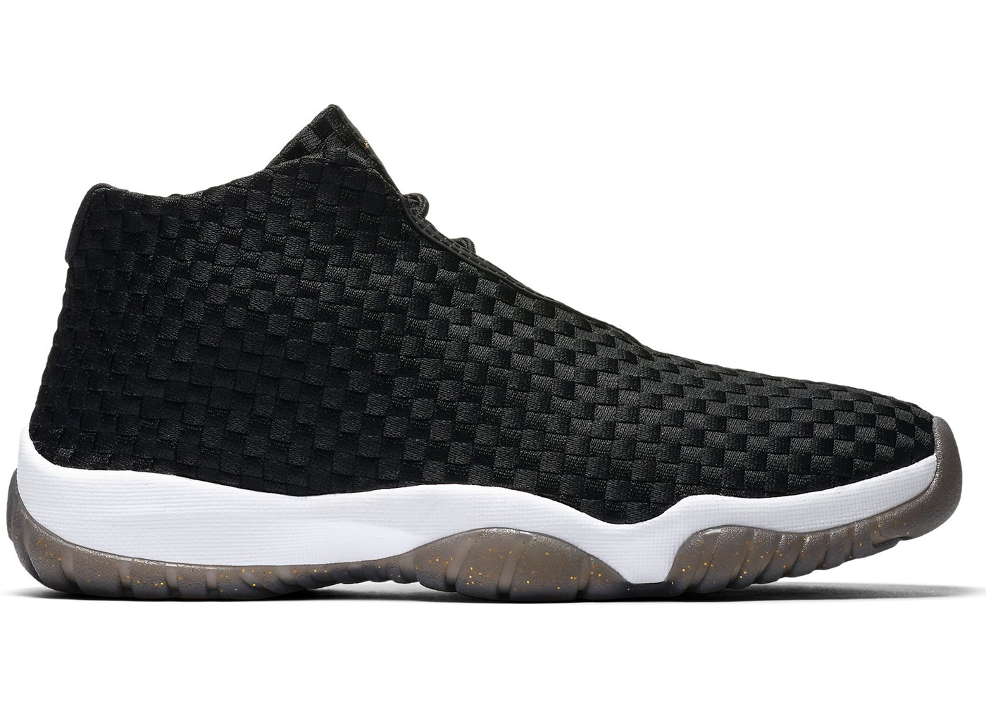 huge discount a7245 0844b Jordan Future Black White Gold