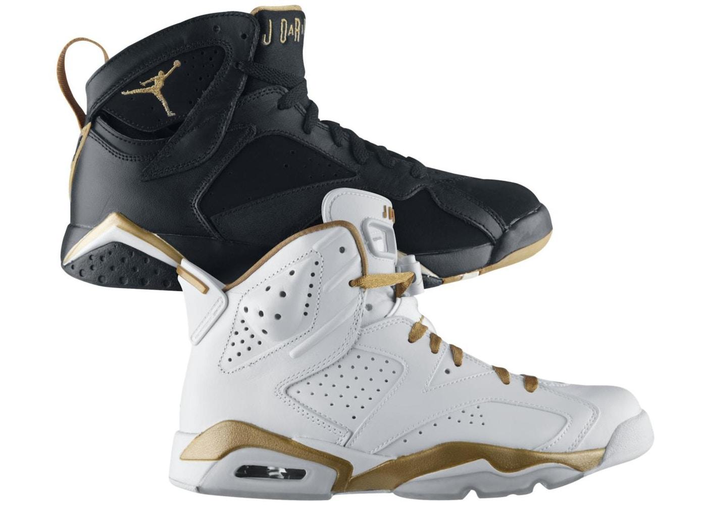 online store 25d40 f03c1 ... 6 7 Retro  Jordan Golden Moments Pack (67) ...