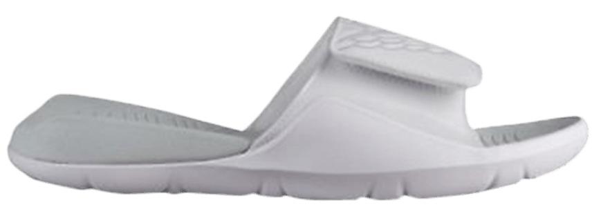 Jordan Hydro 7 Slides White Platinum