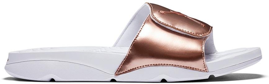 Jordan Hydro Slide Retro 5 Pinnacle Bronze