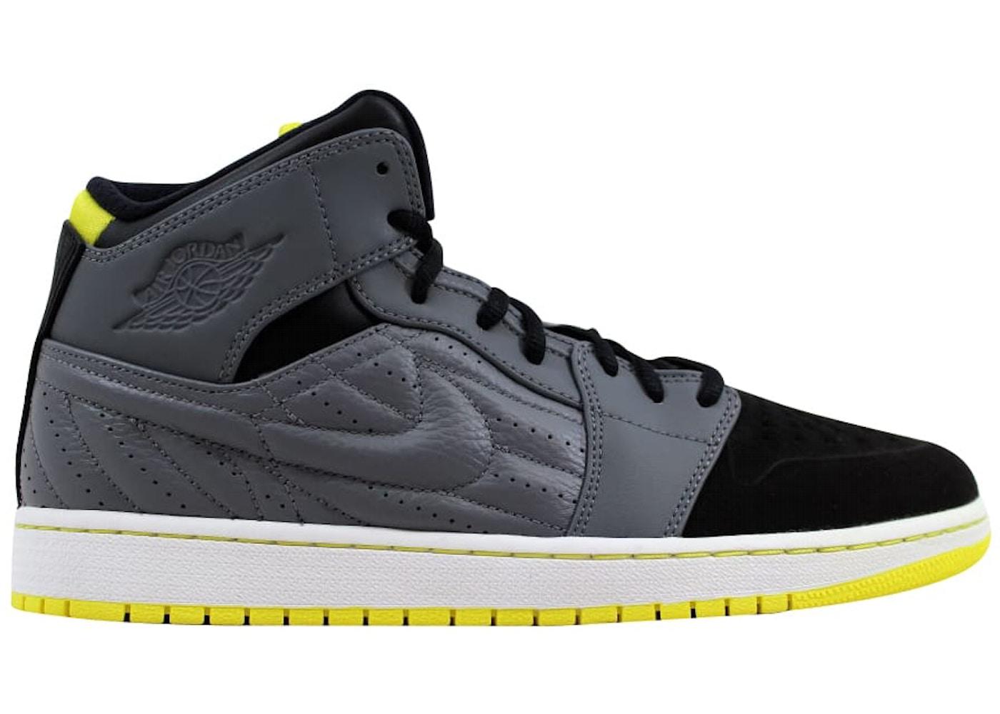 152515ff360f38 HypeAnalyzer · Air Jordan I 1 Retro '99 Cool Grey/Vibrant Yellow ...
