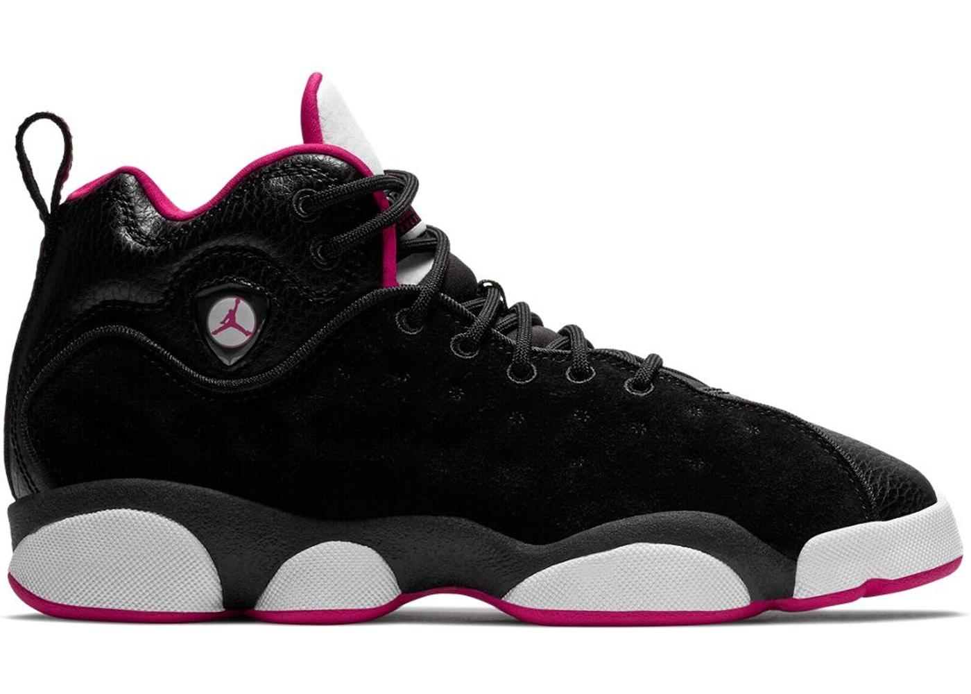 Jordan Jumpman Team 2 Black Rush Pink (GS) - 820276-006 80379f64f