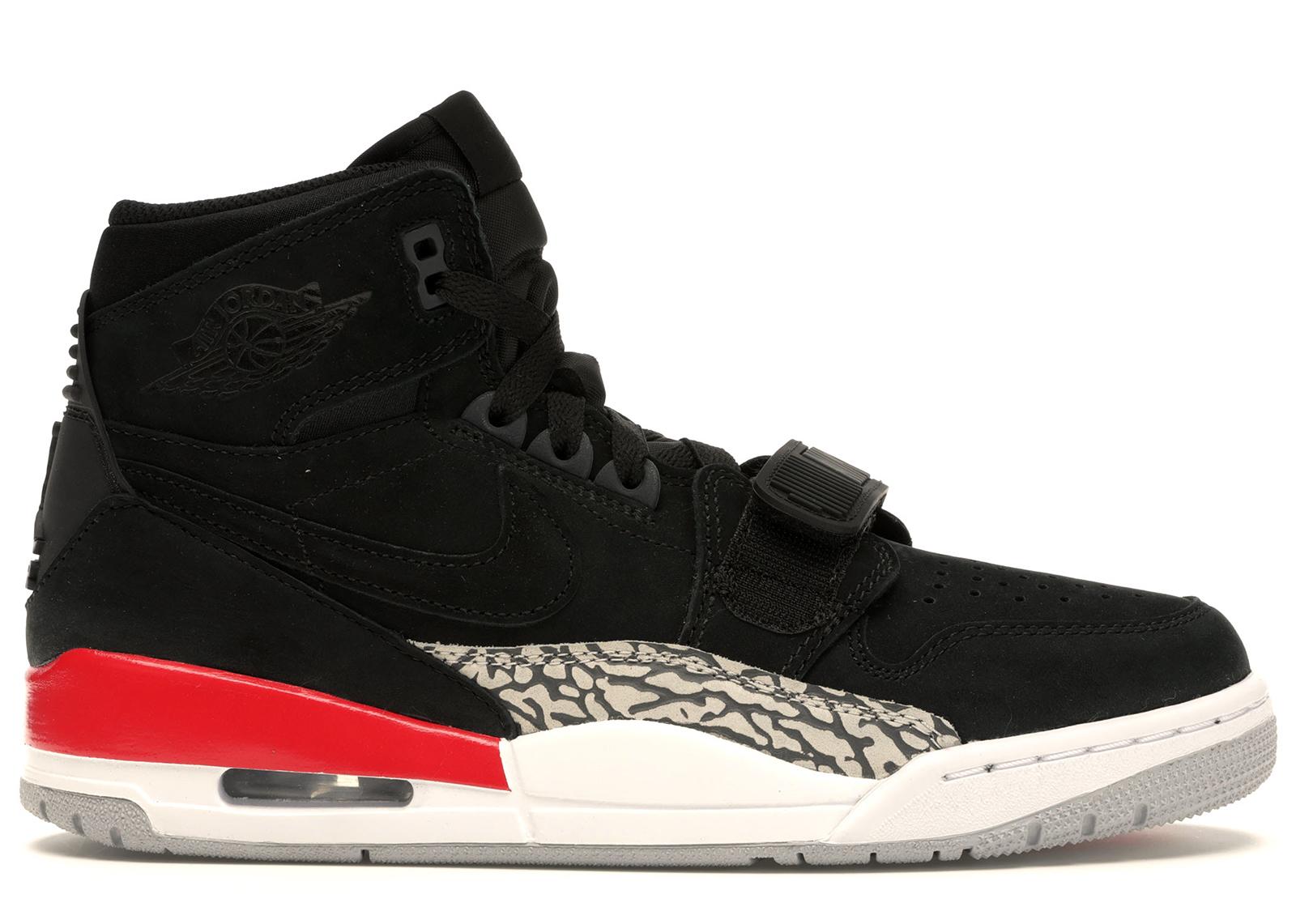 Jordan Legacy 312 Black Fire Red
