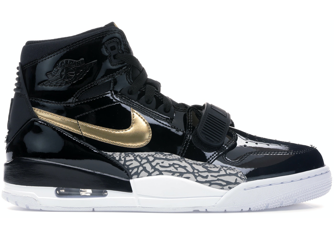 3453fd18a46 Sell. or Ask. Size 9. View All Bids. Jordan Legacy 312 Black Gold Patent