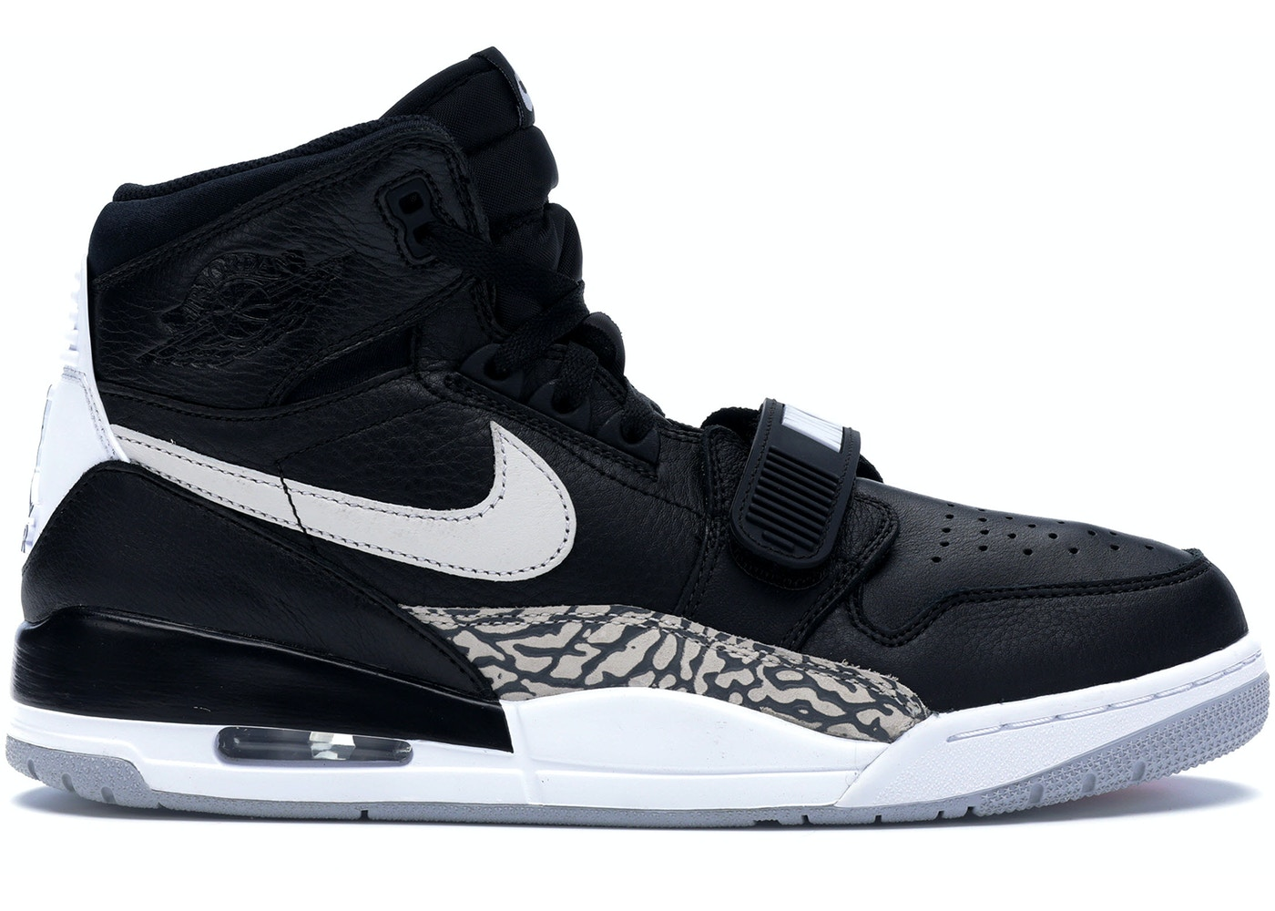 huge sale official site fashion styles Jordan Legacy 312 Black White - AV3922-001