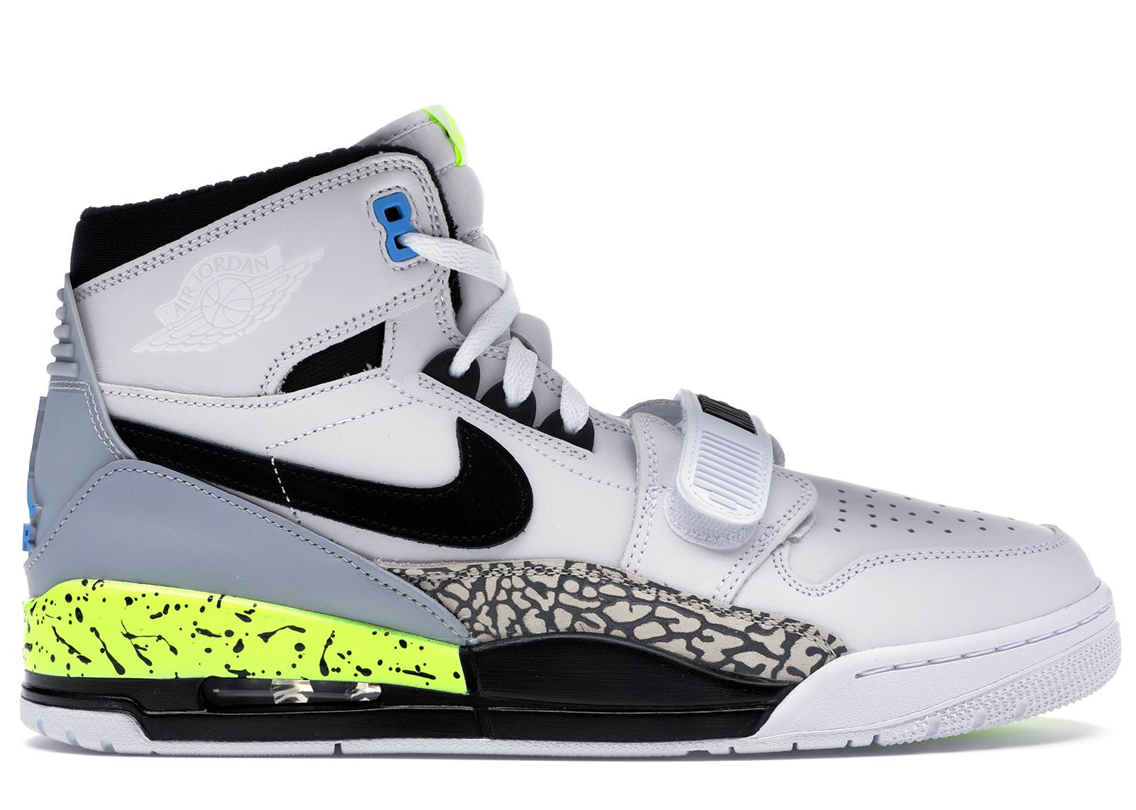 Nike Air Jordan Legacy 312 NRG SZ 11 Just Don C Billy Hoyle Volt AQ4160-107