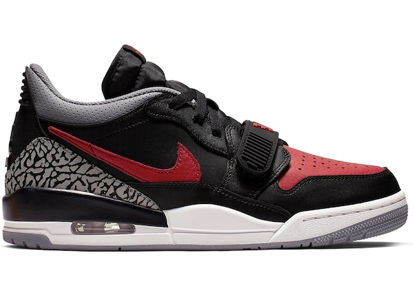 the latest cbf2f 5cebd Jordan Legacy 312 Low Bred Cement