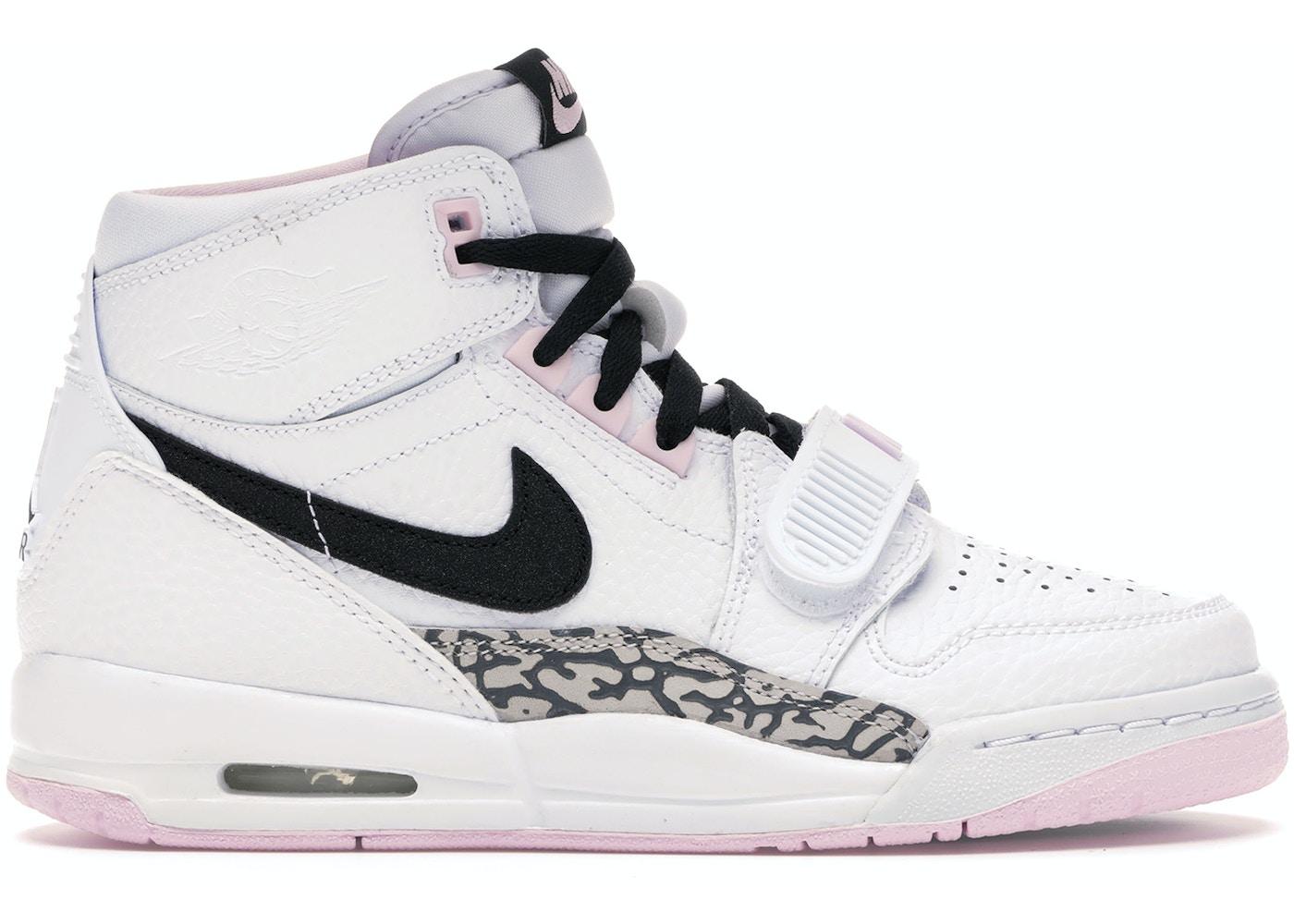 newest 52666 844fe Jordan Legacy 312 White Black Pink Foam (GS)