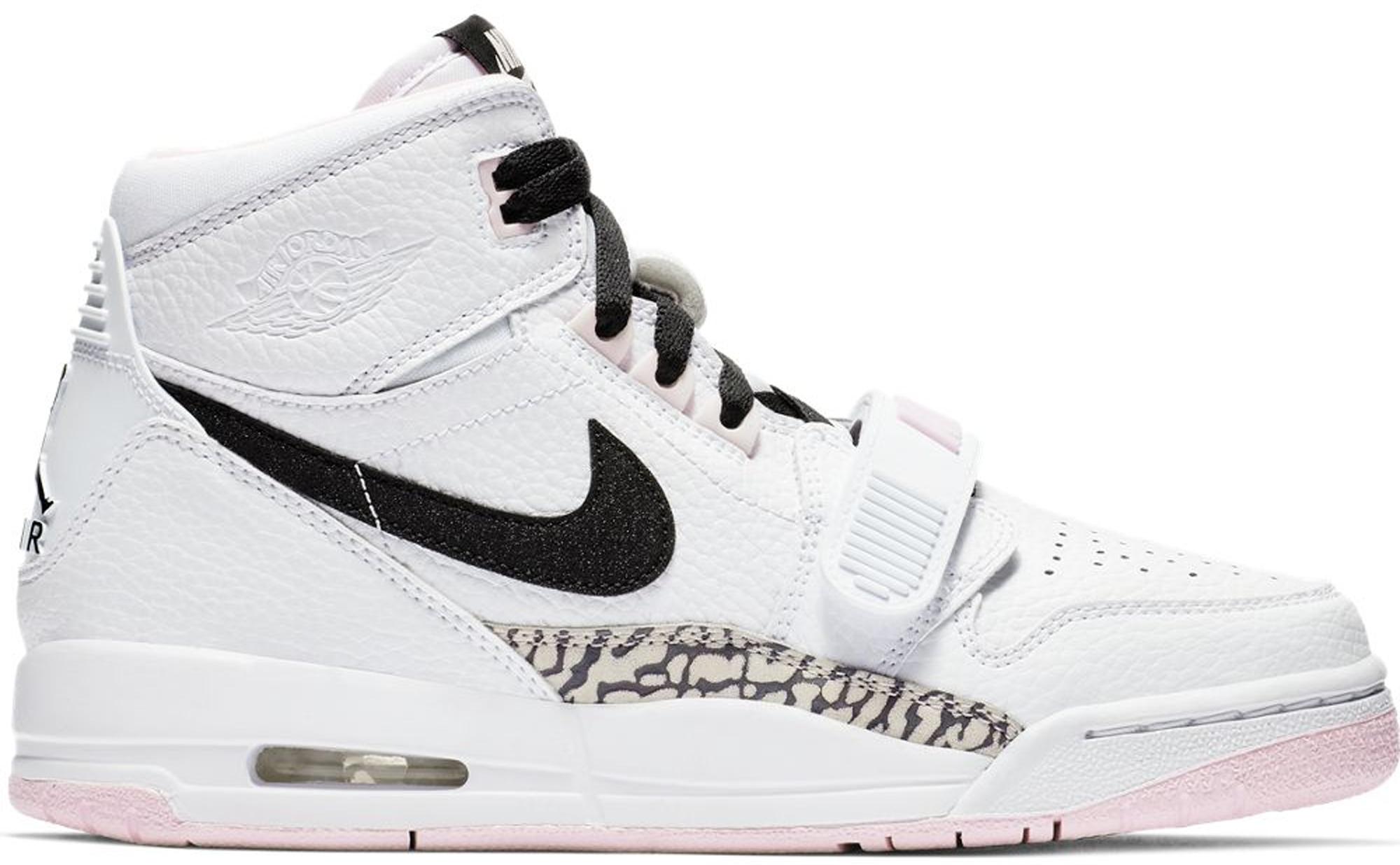Jordan Legacy 312 White Black Pink Foam (GS)