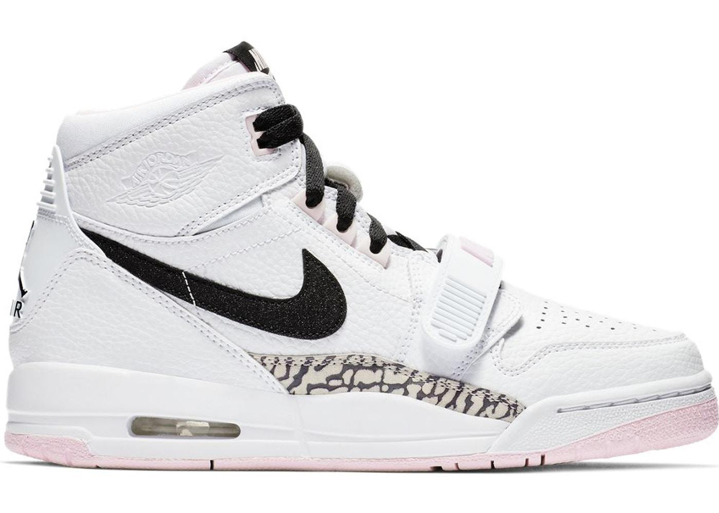 1ab5dcf8377 Jordan Legacy 312 White Black Pink Foam (GS) - AT4040-106