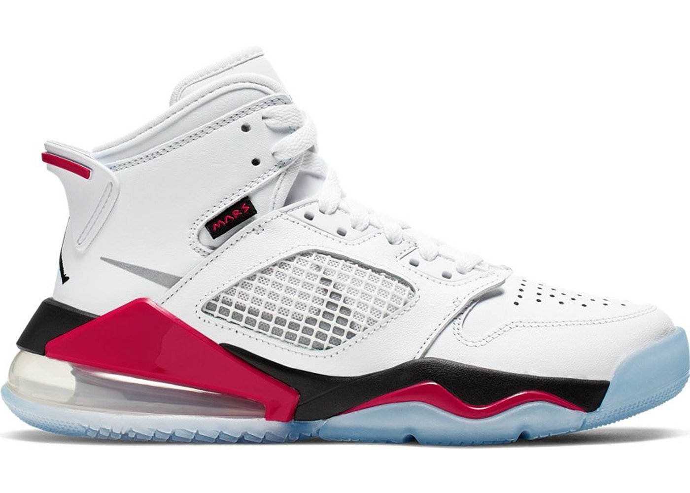 best service 59afd bf8d0 Jordan Mars 270 White Fire Red (GS)