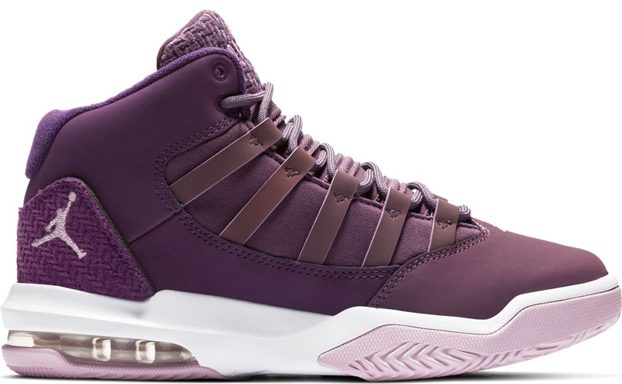 Jordan Max Aura Pro Purple Arctic Pink