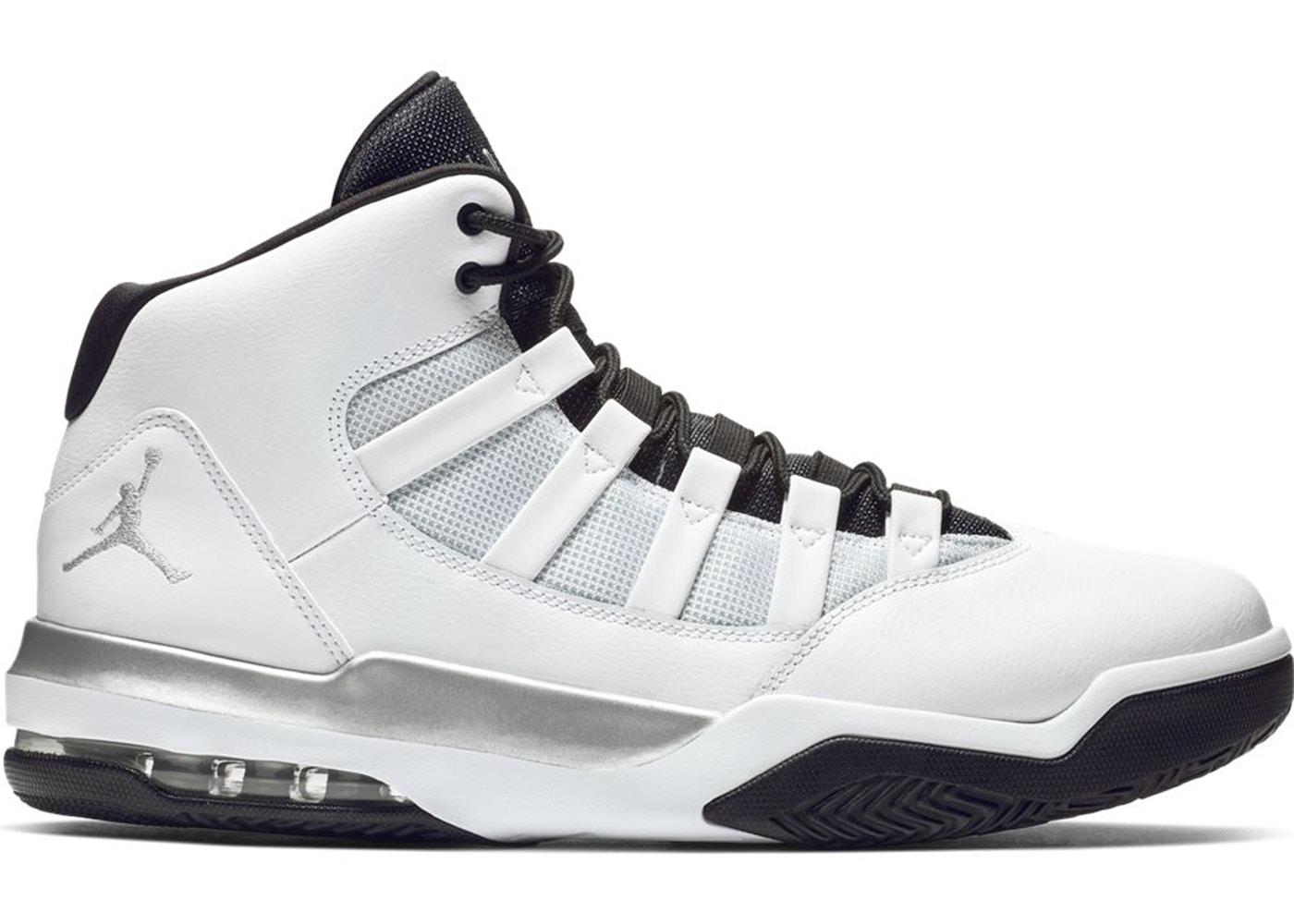 532ab3669d Sell. or Ask. Size: 12. View All Bids. Jordan Max Aura White Metallic  Silver Black