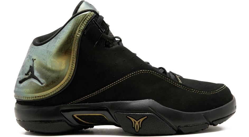 Jordan Melo M4 Black Metallic - 317154-002