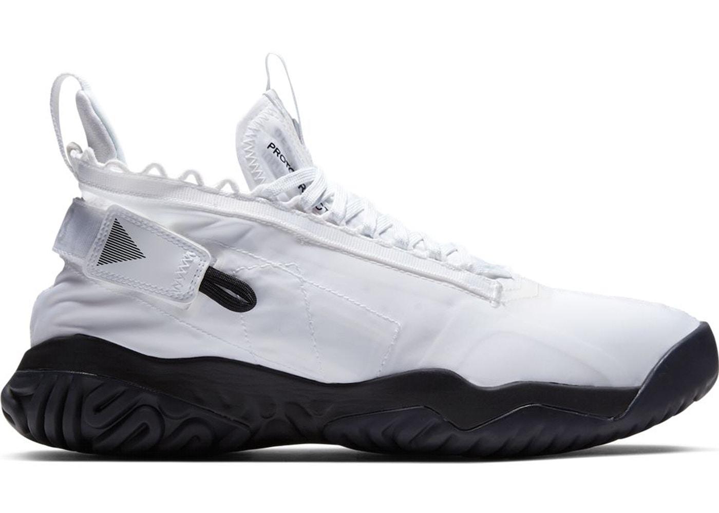 Jordan Proto React White Black