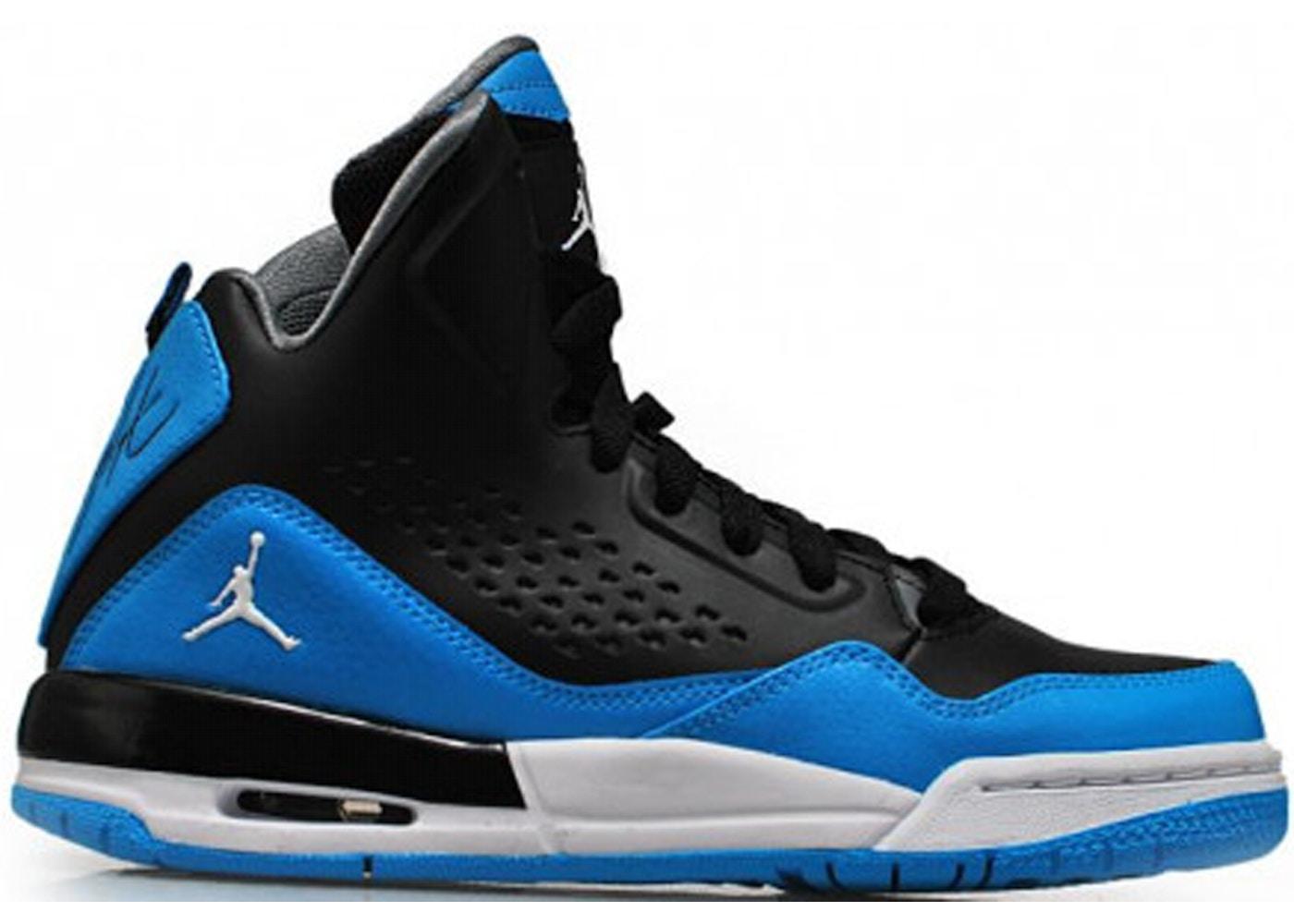 Jordan SC 3 Black Dark Powder Blue (GS)