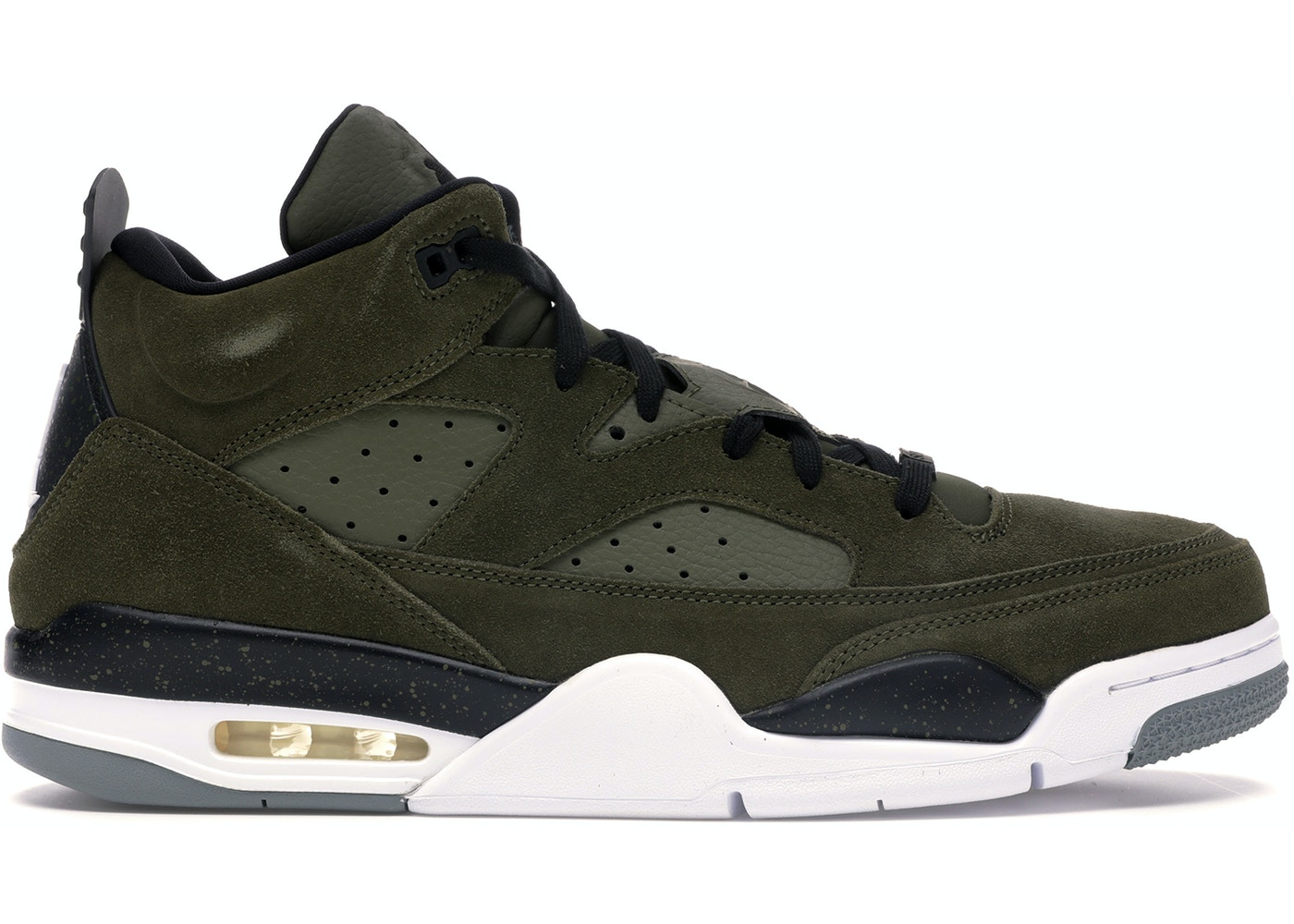 Jordan Son Of Mars Low Olive Canvas by Stock X