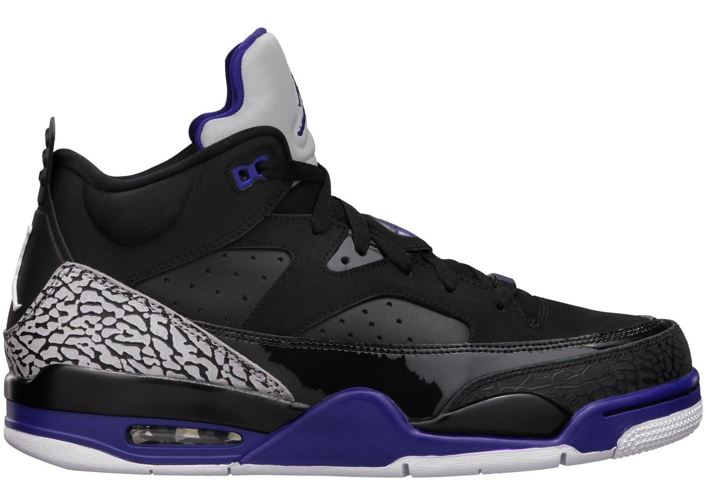 new concept 36a56 a8616 Jordan Son of Mars Low Black Grape