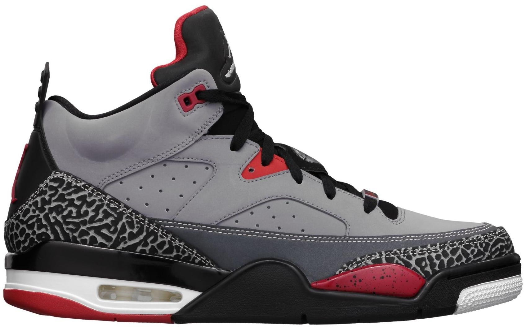 Jordan Son of Mars Low Grey Cement