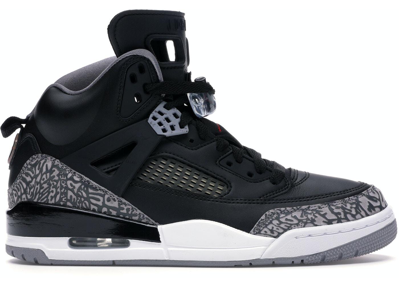 best website aa62d 7e70a Jordan Spizike Black Cement