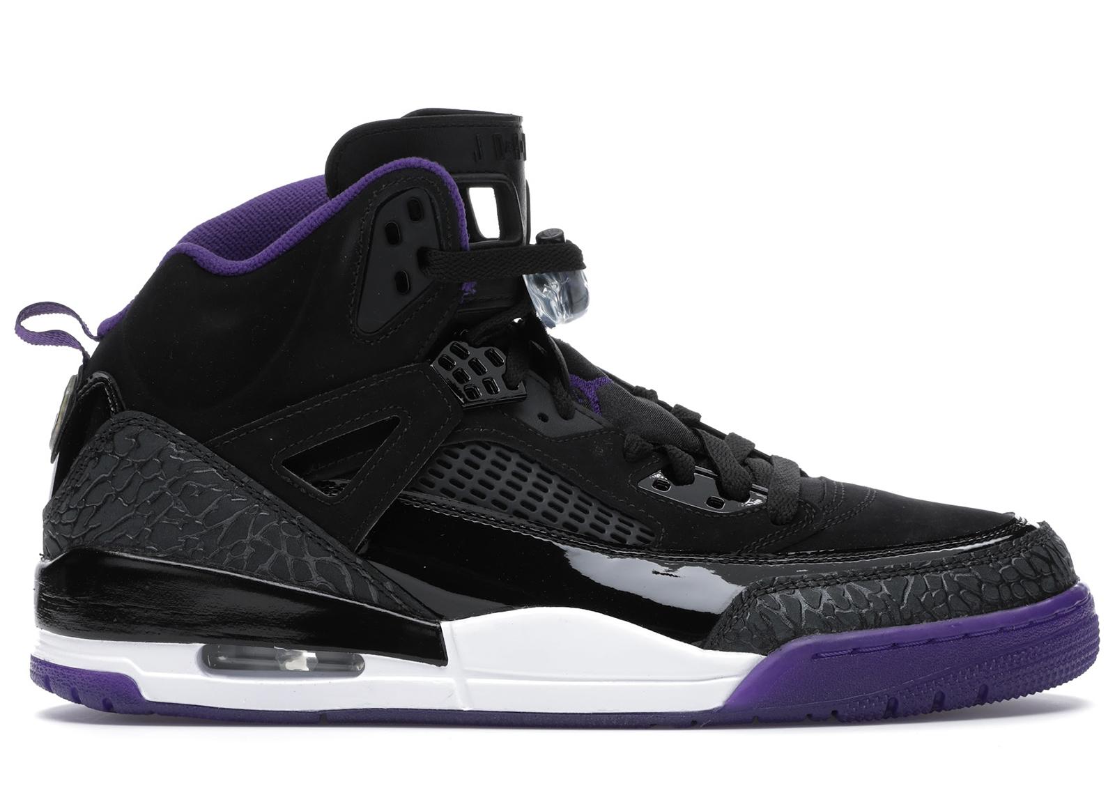 Jordan Spizike Black Court Purple