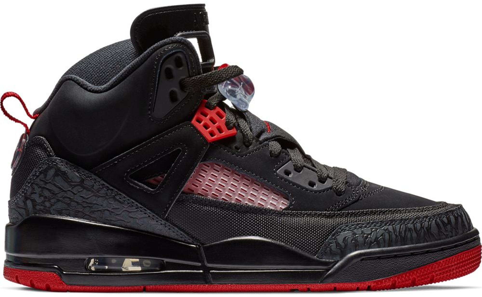 Jordan Spizike Black Gym Red