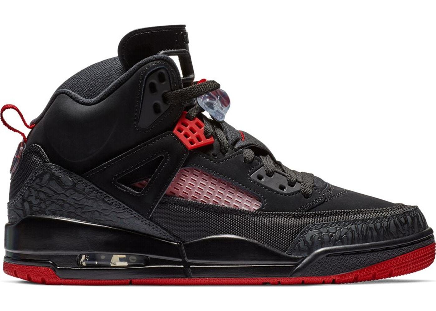 brand new c691e f1d2b Jordan Spizike Black Gym Red